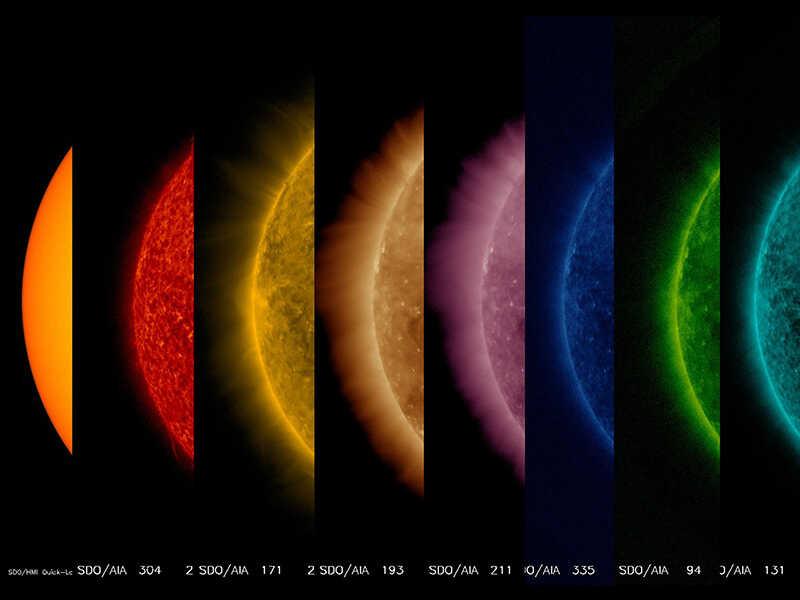 gambar permukaan matahari