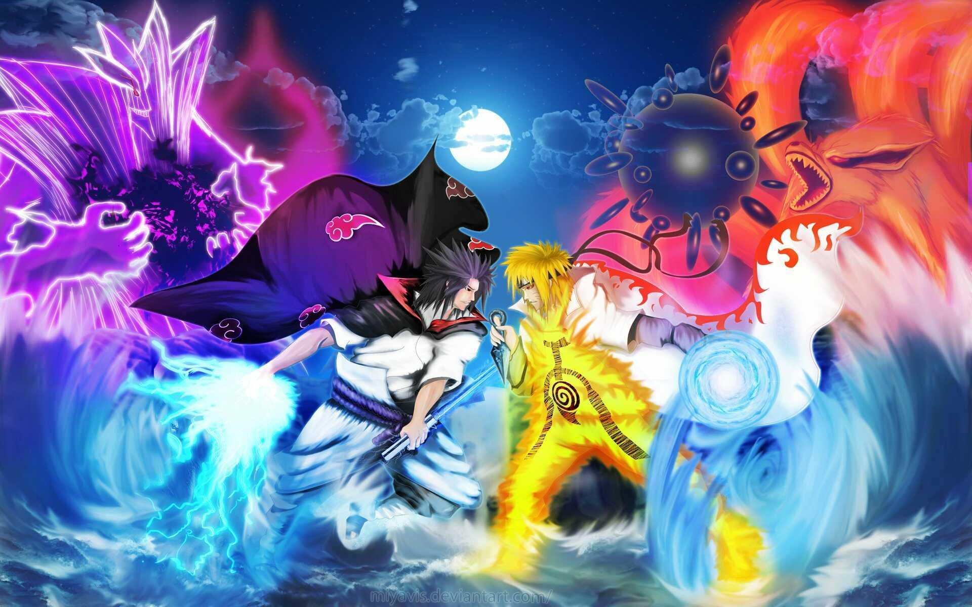 +50 Download Gambar Naruto, Hinata, Sasuke, Sakura Keren [Wallpaper HD]