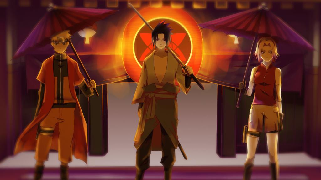 Naruto Sasuke dan sakura