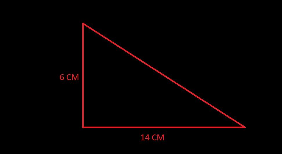soal luas segitiga siku siku